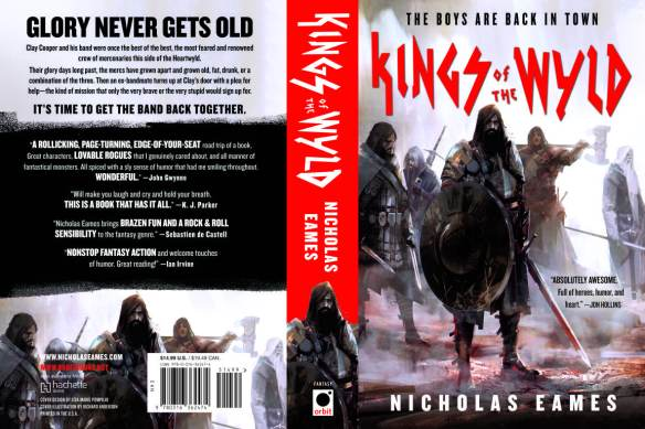 Kings of the Wyld book cover